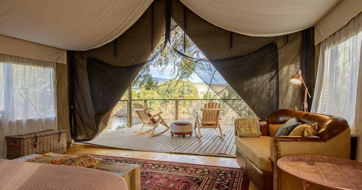 Truffle Lodge - Glamping in the Derwent Valley